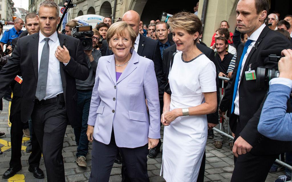 Un changement de pouvoir ? ...? Personenschutz